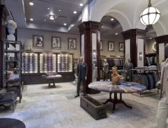 Joseph Abboud华丽的曼哈顿旗舰店设计