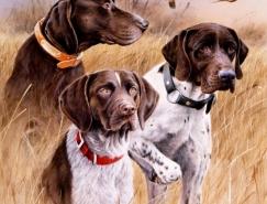 35張精美的狗狗繪畫作品精選