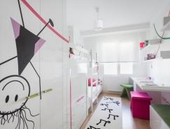 可爱墙绘的纯白女孩卧室皇冠新2网