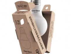 EVO节能灯泡包装设计