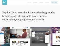 25個極簡風格網頁設計欣賞