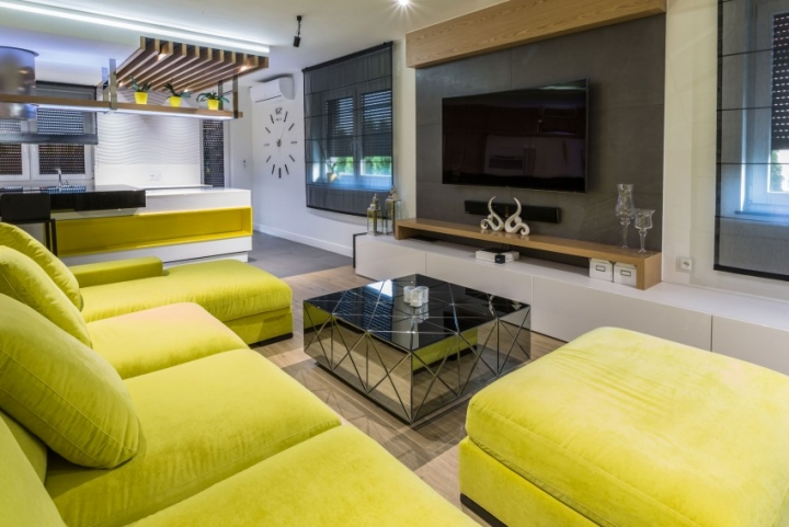 波兰时尚的现代住宅设计