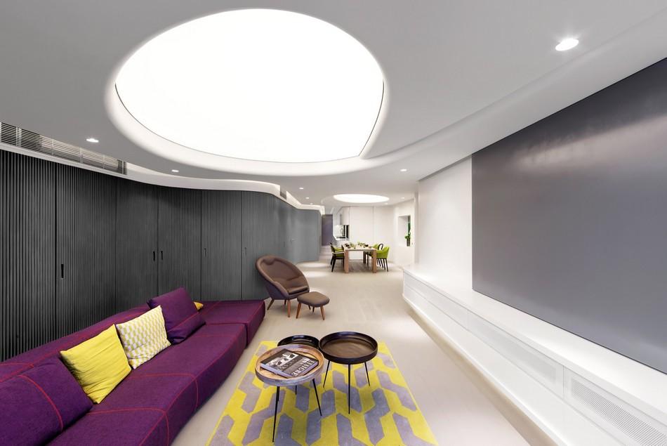 香港未来派风格复式住宅设计