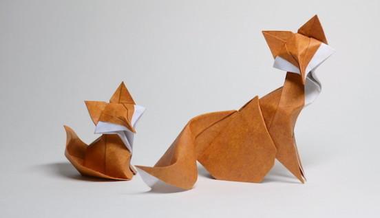 越南艺术家HoangTienQuyet创意折纸图纸wowa图纸多彩作品图片
