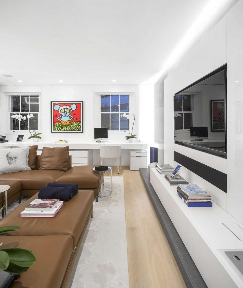 伦敦现代风格复式公寓设计图片