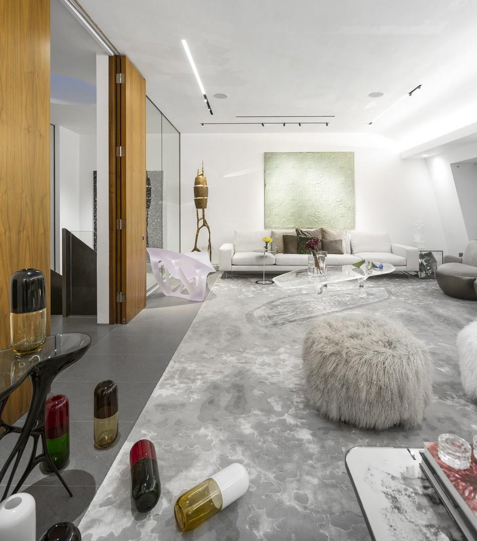 伦敦现代风格复式公寓设计
