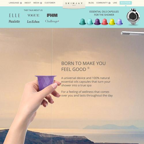 33个漂亮的视差滚动网站设计