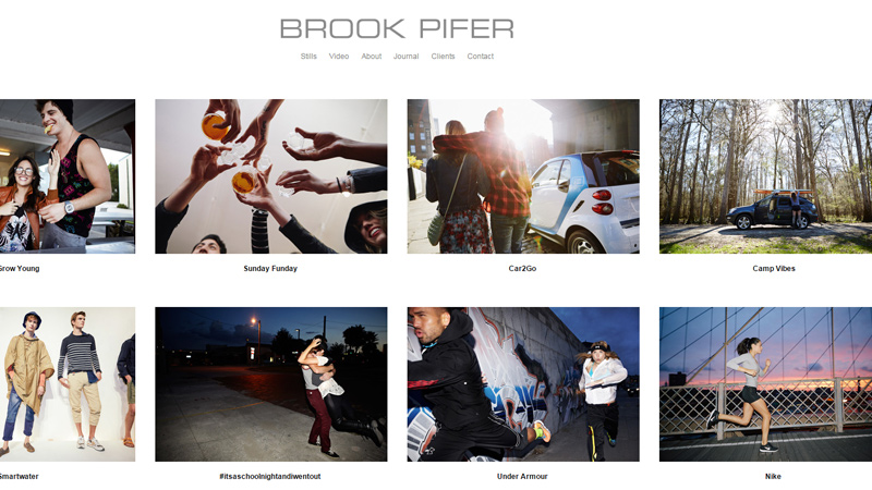 30个精美的摄影师网站设计