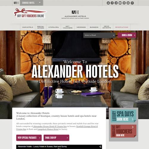 30个国外酒店度假村网站设计