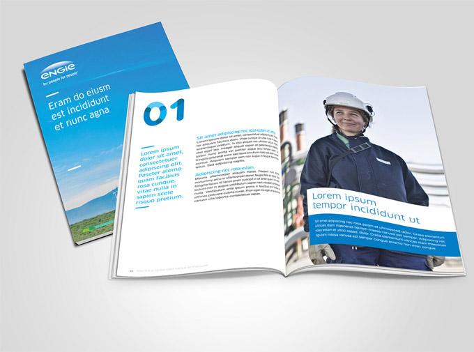 """苏伊士集团(GDF-Suez)是法国能源巨头之一,由法国两家能源巨头法国苏伊士集团(Suez)与法国燃气集团(Gaz de France,GDF)两大集团在2008年合并成立的世界级能源巨头。4月份,该集团宣布将集团名称由""""GDF-Suez""""变更为""""Engie(能源)""""。同时设计公司Carré Noir为其设计了全新的形象标志,新标志就像冉冉升起的太阳一样,象征能源世界的全新一天。全新的名称和全新的形象表现了该集团加快发展的脚步和全新的发展战"""