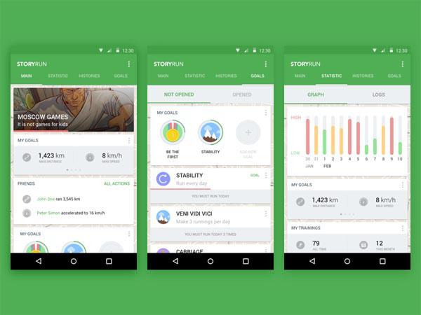 30款手机app图表ui设计(2)