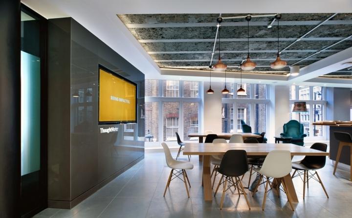 软件开发商thoughworks伦敦办公室空间设计 设计之家
