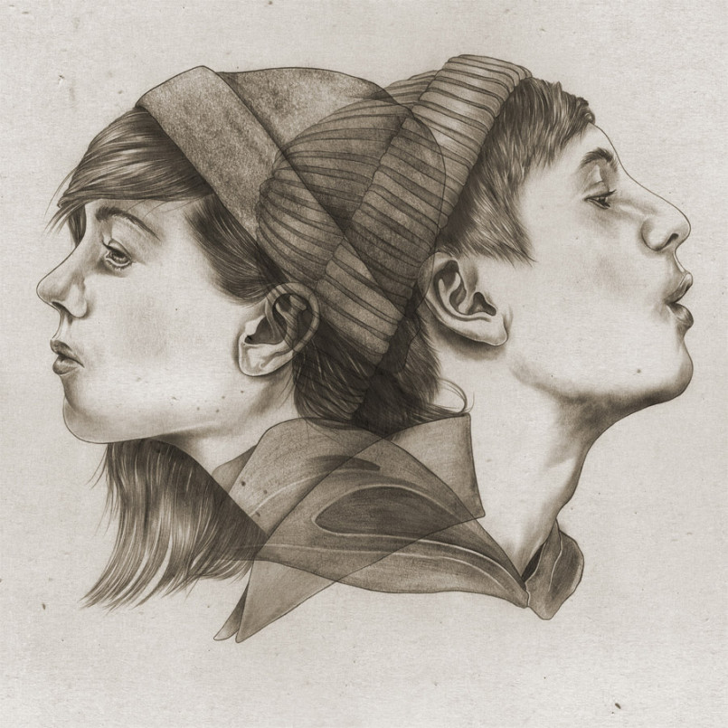 Victor Jönsson漂亮的铅笔肖像画作品