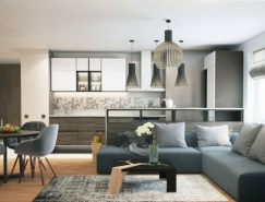 6个优雅时尚的小公寓空间装修设计