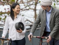 Fuga折叠安全骑行头盔设计