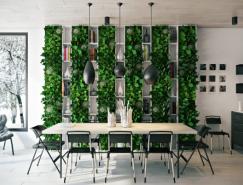 25个漂亮的餐厅装修设计