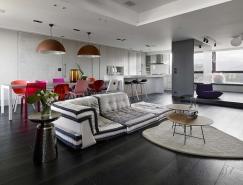 巧妙的色彩搭配:台湾新北Chorus公寓设计