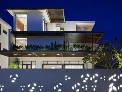 越南胡志明市西贡现代简约别墅设计