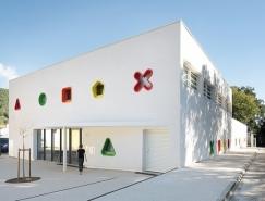 丰富的色彩和形状:法国充满童趣的托儿中心