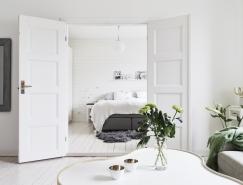 72平北欧纯白典雅公寓设计