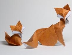 越南艺术家Hoang Tien Quyet创意折纸作品
