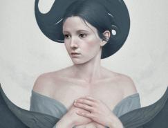 Diego Fernandez手绘肖像插画欣赏