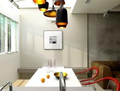 纯粹简约的精致公寓装修设计