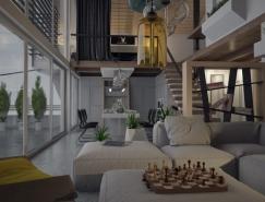 5个精致漂亮的阁楼空间设计