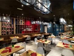Pizzikotto比萨餐厅设计