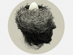 Simon Prades超現實主義插畫設計