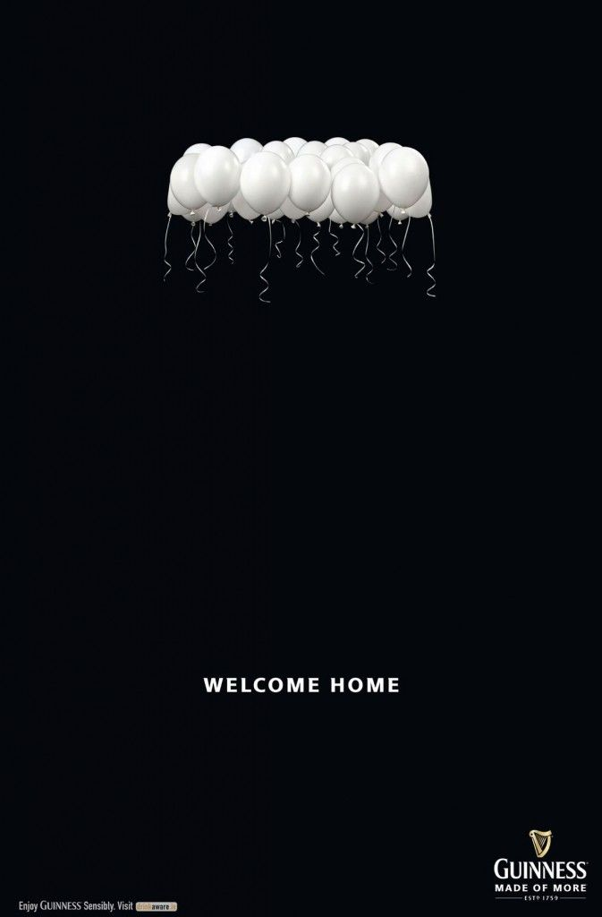 guinness: welcome home