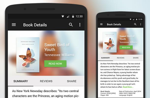 50个Android安卓手机APP应用UI设计