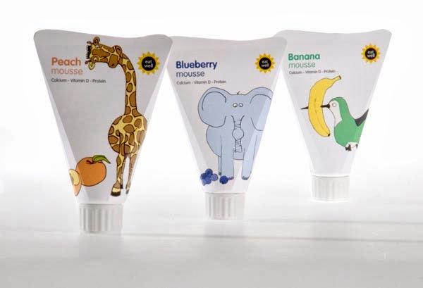50款漂亮的酸奶包裝設計(3)