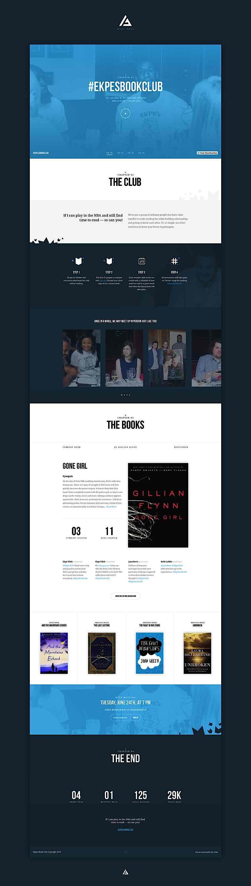 Gene Ross漂亮的网页界面设计