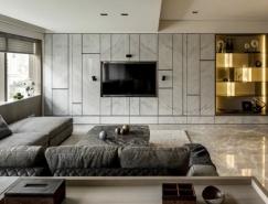 3个现代时尚的公寓住宅装修设计作品