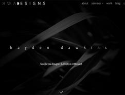 20个设计师网站设计欣赏