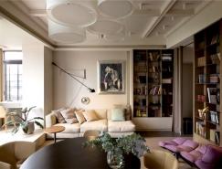 柔和的色调:乌克兰一居室公寓