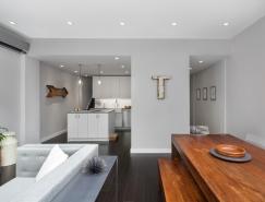 East Village简约温馨的复式公寓设计