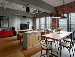 高雄93平米工业风格公寓皇冠新2网