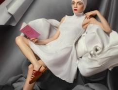 Andrey Yakovlev Lili Aleeva时尚肖像摄影欣赏