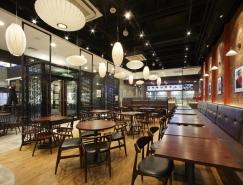 北京和合谷餐厅空间设计