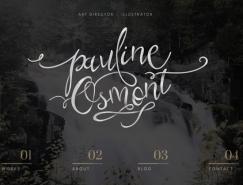 精美的字體排版設計:25個國外網站設計