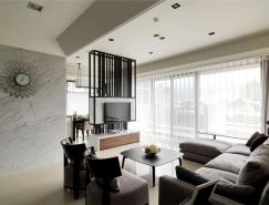 台北优雅简约的现代公寓设计