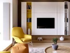 基辅时尚现代的公寓装修设计