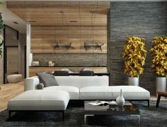 5个中性色调和富有质感的住宅装修设计