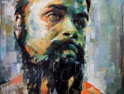 Joshua Miels人物肖像油画作品