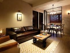 台北现代乡村风格公寓设计
