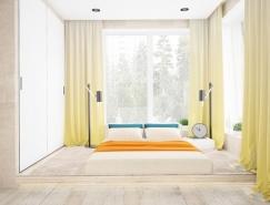 迷人的色彩搭配:4套优雅公寓装修设计