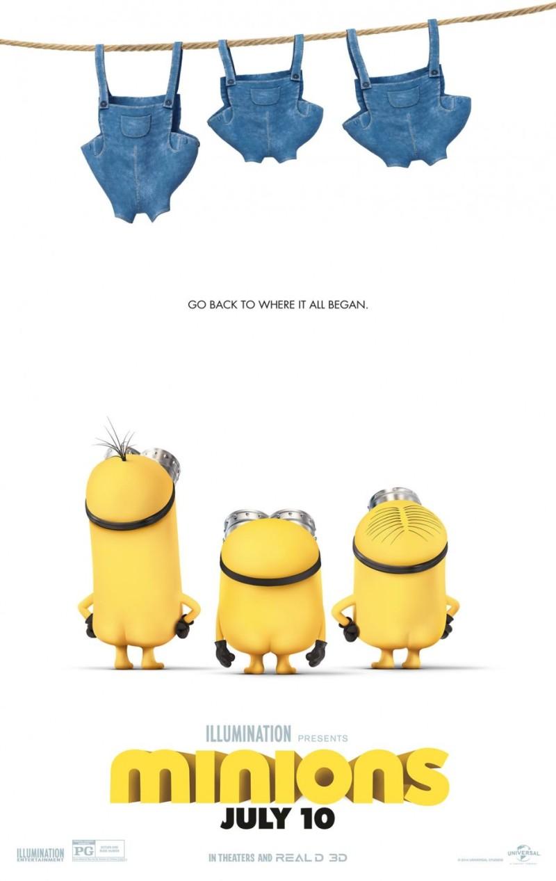 电影海报欣赏:小黄人 minions
