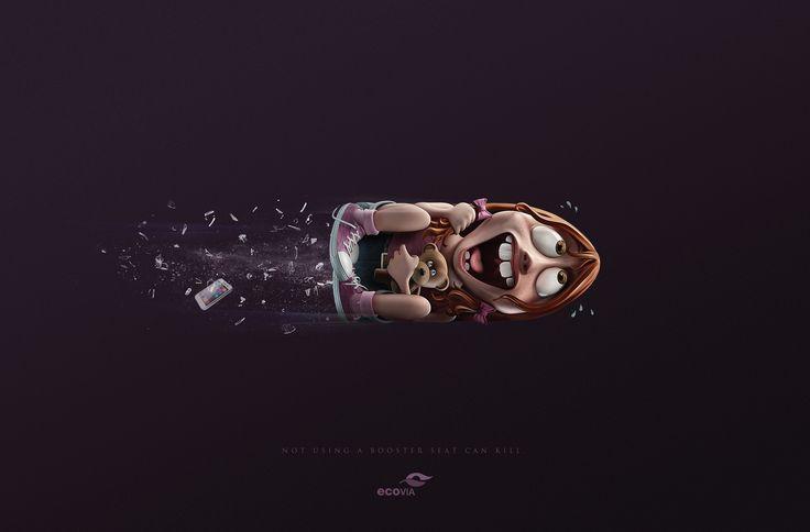 国外创意公益广告设计(2)图片